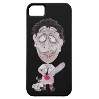 Horror Movie Butcher Funny Caricature Phone Case