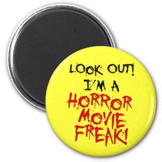 Horror Movie Freak Fridge Magnets