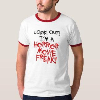 Horror Movie Freak Tshirts