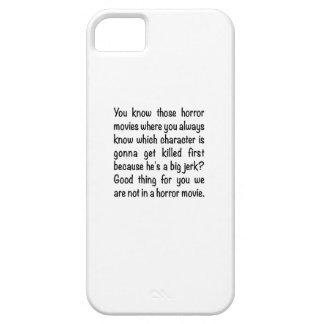 Horror Movie Jerk iPhone SE/5/5s Case