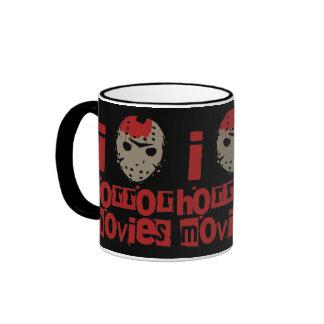Horror Movie Love Ringer Coffee Mug