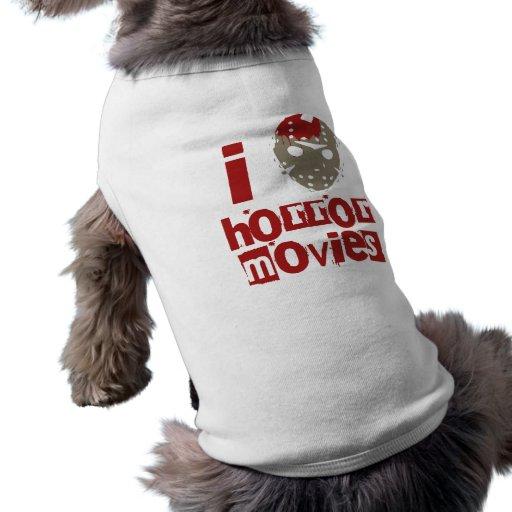 Horror Movie Love Pet T Shirt