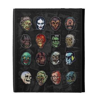 Horror Movie Monster Masks (color) iPad Folio Cases