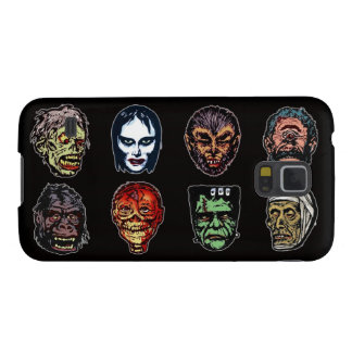 Horror Movie Monster Masks (color) Galaxy S5 Case