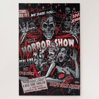 Horror movie Monsters Jigsaw Puzzle