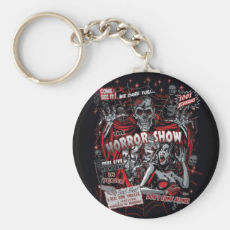Horror movie Monsters spook show Keychain