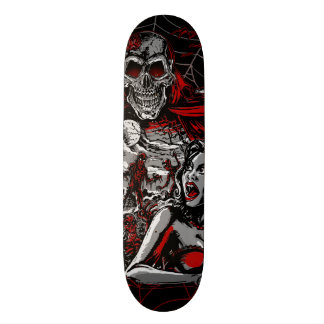 Horror movie Monsters spook show Skateboard Deck