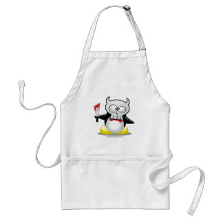 Horror Movie Penguin Adult Apron