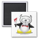 Horror Movie Penguin Fridge Magnet
