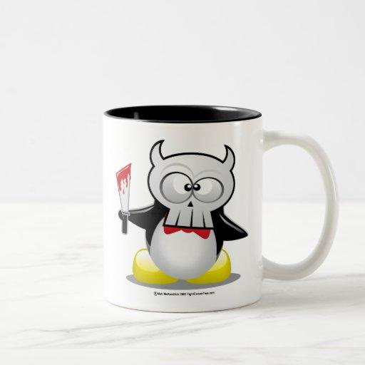 Horror Movie Penguin Mugs