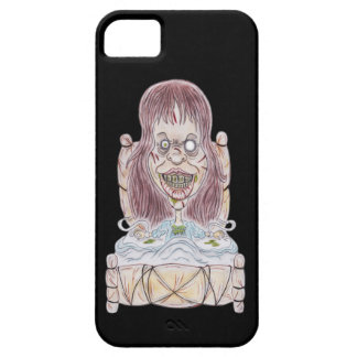 Horror Movie Possessed Caricature Drawing Case