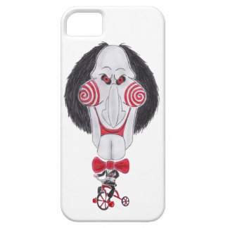 Horror Movie Puppet Caricature Drawing Phone Case iPhone 5 Cover