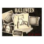 "Horror Movie Staples Halloween Party Invitations 5"" X 7"" Invitation Card"
