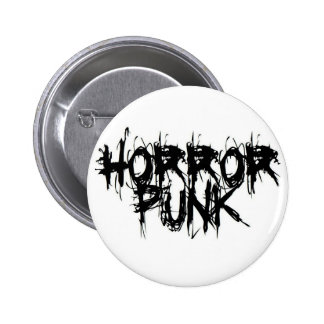 Horror Punk Pinback Button