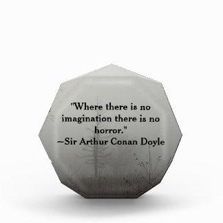 Horror Quote Acrylic Art Award