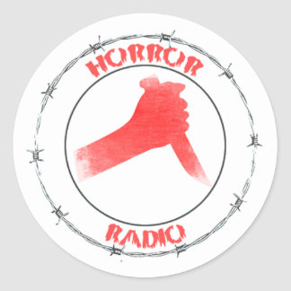 HORROR RADIO Sticker Sheet
