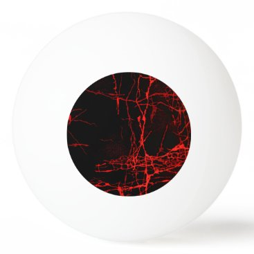 Halloween Themed Horror Red Ping Pong Ball