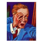 ¡Horror retro del kitsch del vintage mi ojo! ¡Mi o Tarjetas Postales