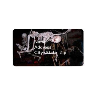 Horror Show Address Label