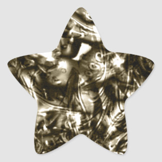 HORROR SHOW STAR STICKER