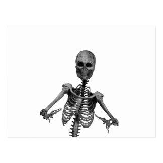 Horror Skeleton 2 Postcard