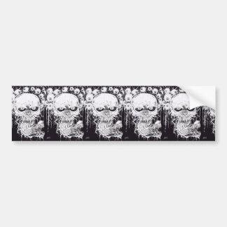 Horror Skull Art Bumper Stickers