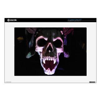 """Horror Skull Decals For 15"""" Laptops"""