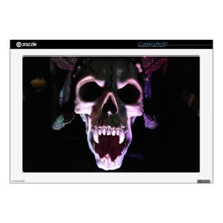 """Horror Skull Decal For 17"""" Laptop"""