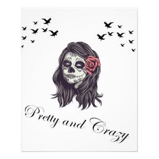 Horror Skull Women Flyer
