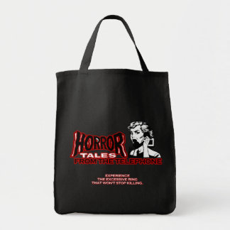 Horror Tales From The Telephone Retro Movie Ad Bags