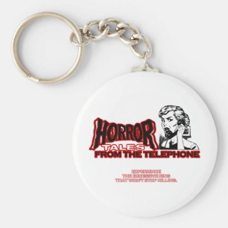 Horror Tales From The Telephone Retro Movie Ad Keychain