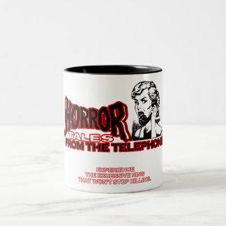 Horror Tales From The Telephone Retro Movie Ad Mug
