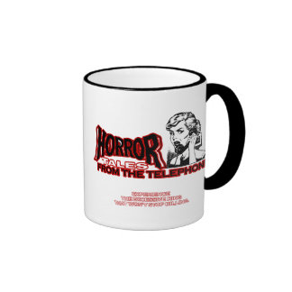 Horror Tales From The Telephone Retro Movie Ad Mugs