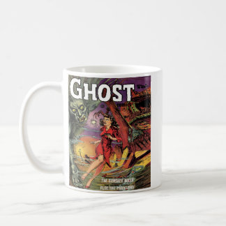 Horror Vintage Comic Book Design Coffee Mug Cup
