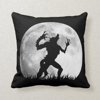 Horror Werewolf Full Moon Transformation - Cool Throw Pillow