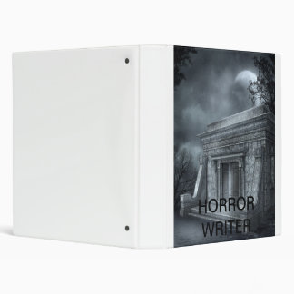 Horror writer binder
