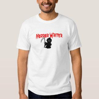 Horror Writer Grim Reaper Tee Shirt