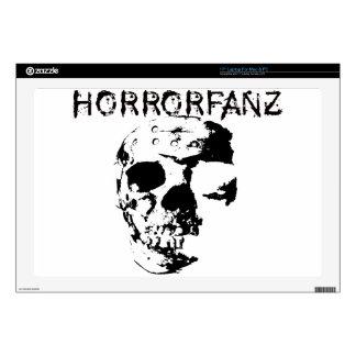 "Horrorfanz Logo Decals For 17"" Laptops"