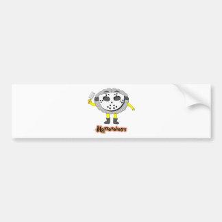 Horrorology Bumper Sticker