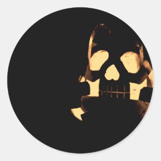 Horrorstuff Halloween Pumpkin Classic Round Sticker