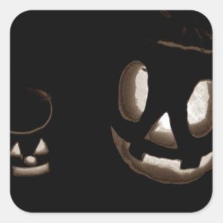 Horrorstuff Halloween Pumpkin II Square Sticker