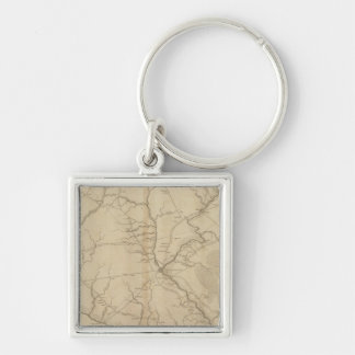 Horry District, South Carolina Keychain