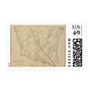Horry District, South Carolina Stamp