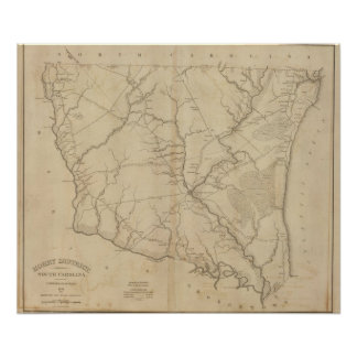 Horry District, South Carolina Poster