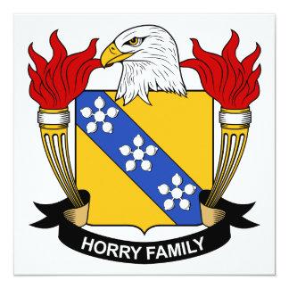 Horry Family Crest Custom Announcement