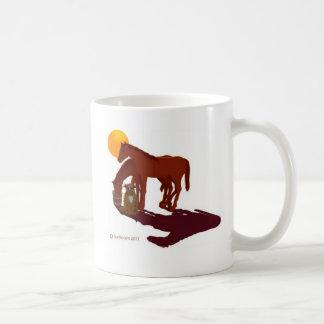 HORS/DOG-A COFFEE MUGS