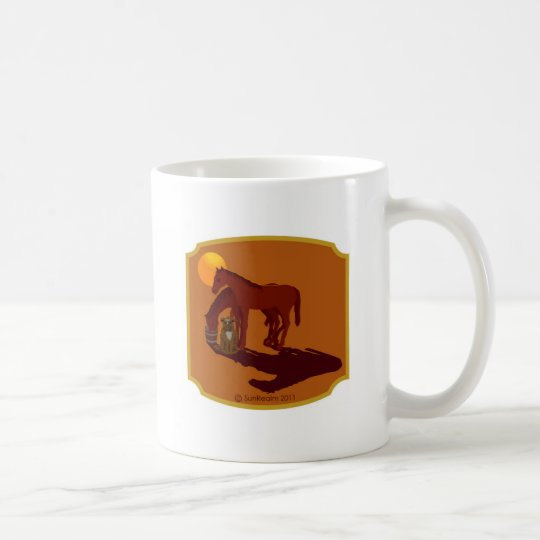 HORS/DOG-C COFFEE MUG