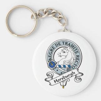 Horsburgh Clan Badge Keychain