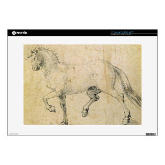 Horse, 1503 (pen and ink on paper) skins for laptops