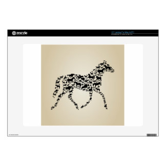 """Horse 15"""" Laptop Decal"""